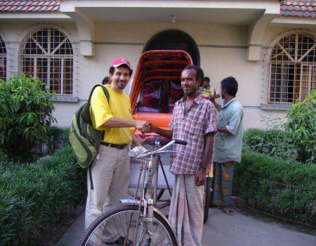 Consegna rickshaw