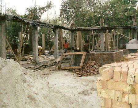 Conclusione delle fondamenta - Aprile 2010