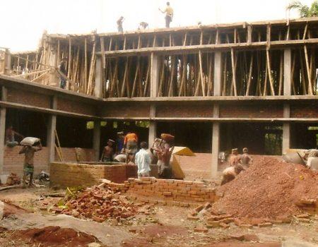 Innalzamento al secondo piano - Luglio 2010