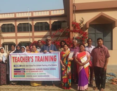 Kumari maria School Conclusione corso aggiornamento