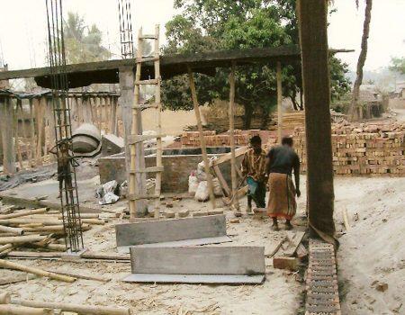Costruzione dei pilastri - Aprile 2010