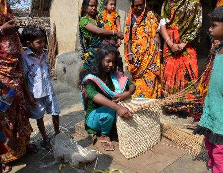 il lavoro delle donne del villaggio