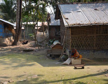 il lavoro delle donne nel villaggio