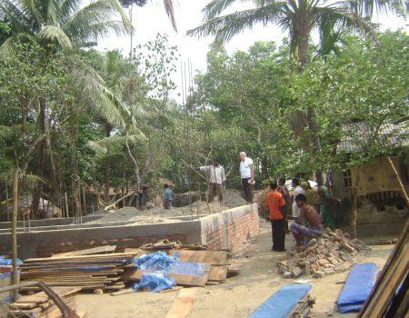 inizio costruzione maggio 2012